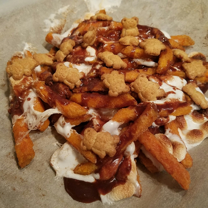 S'mores Sweet PotatoFries